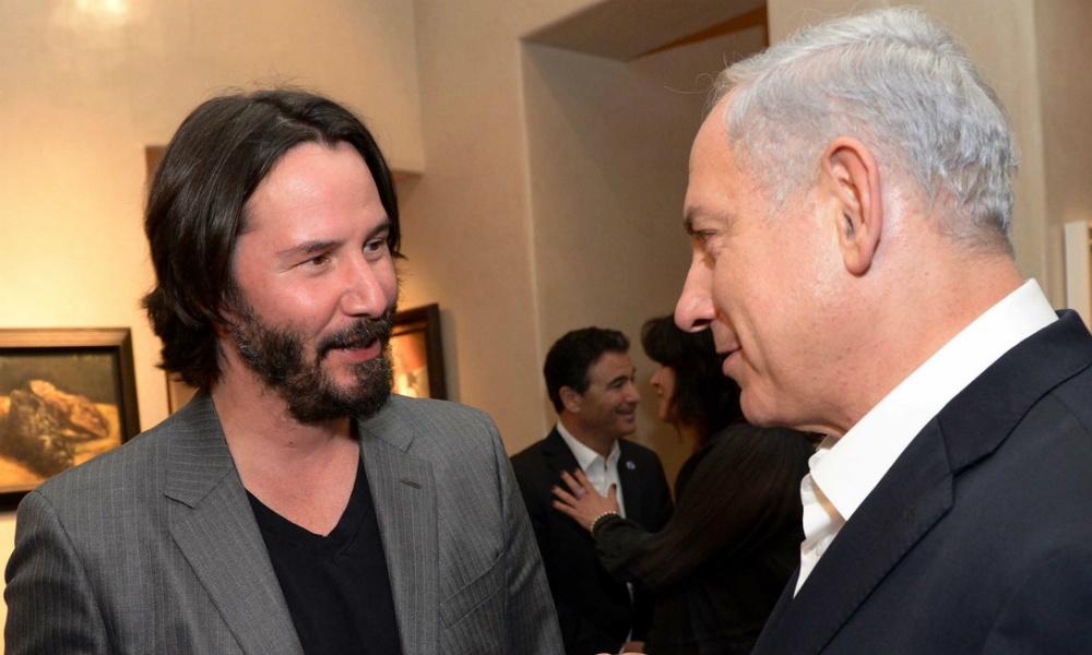 Keanu Reeves Israel