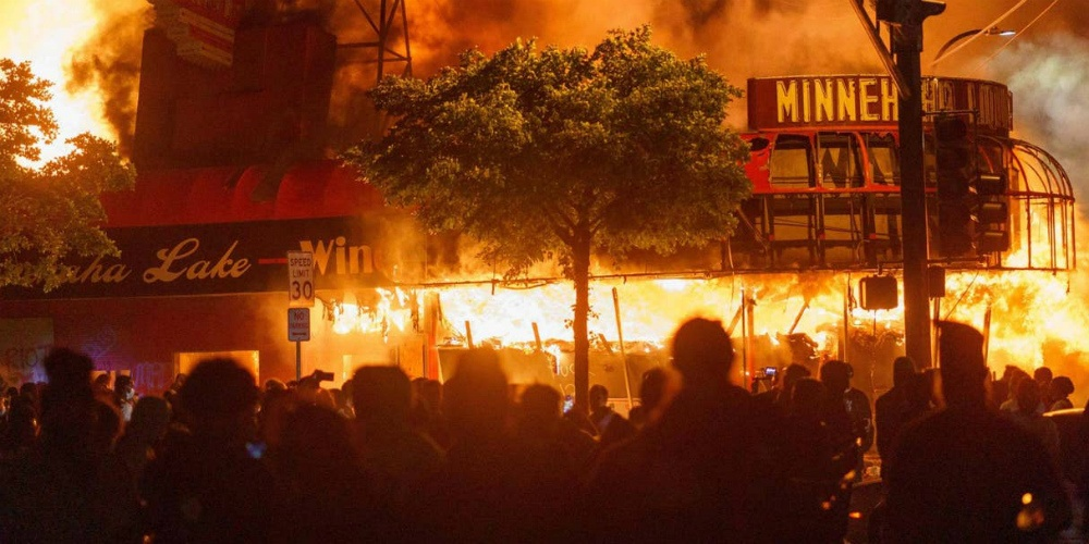 These riots eliminate any doubt the radical left hates America