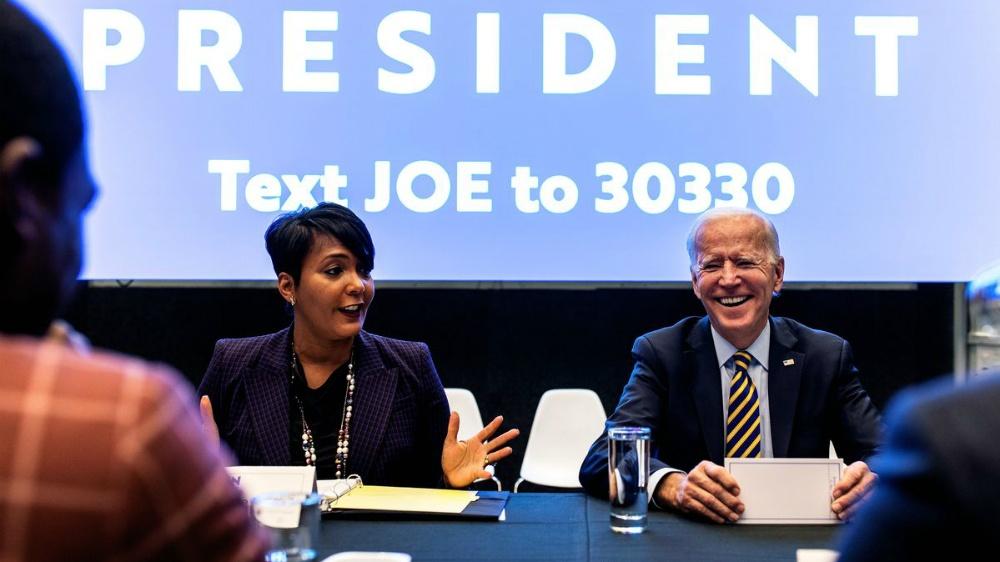 A black female will be the de facto top of the ticket, not Joe Biden