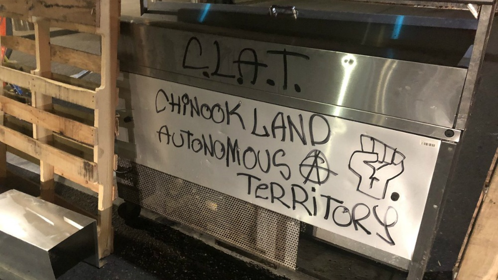 Chinook Land Autonomous Territory: The 'CLAT' forms in Portland