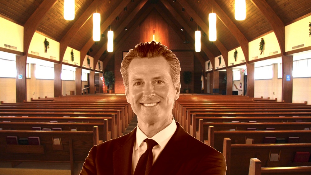 Dear Gavin Newsom: Religious freedom at church or through in-home Bible study is essential