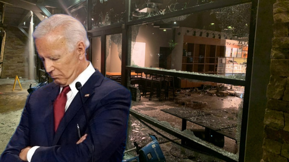 Joe Biden's silence on violent Antifa and BLM riots is deafening