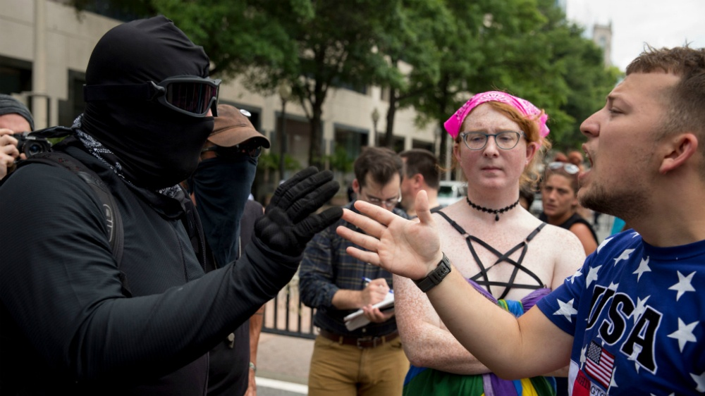 Why are there no counter-protesting patriots in Portland, Seattle, elsewhere?