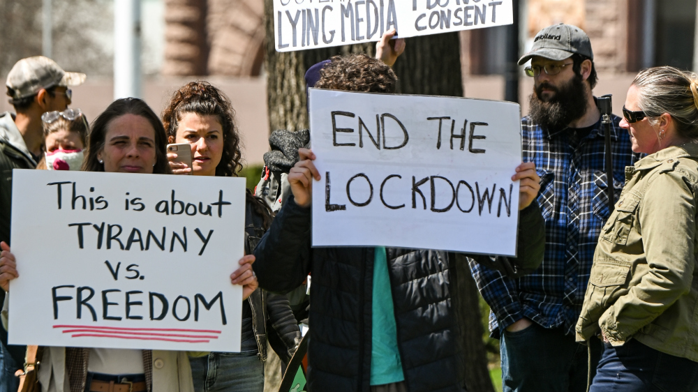 It's time to organize protests, lawsuits against lockdowns and other COVID-19 mandates