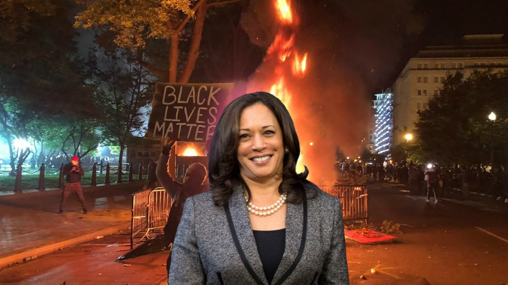 Kamala Harris on BLM riots: 'They're not going to let up, and they should not'