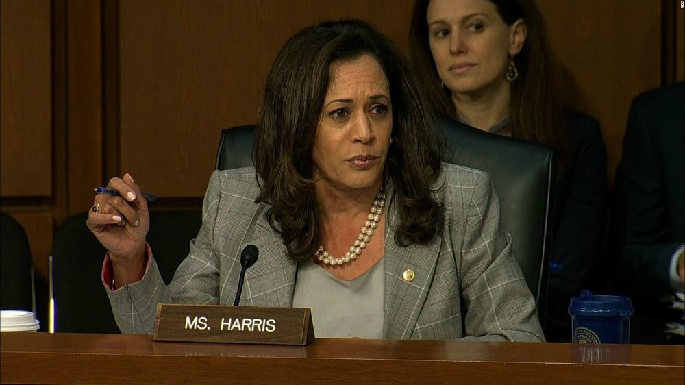 Kamala Harris rated by watchdog as most radical leftist Senator last year