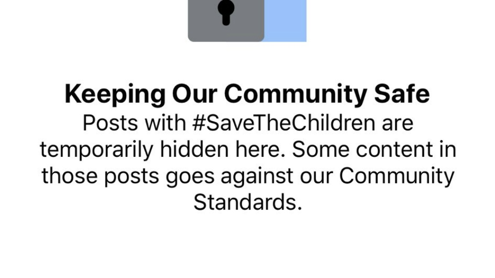 #SaveTheChildren hashtag filtered on Facebook over 'crotch button' on Hasbro toy?