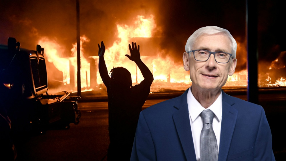 With two dead in Kenosha, Wisconsin Gov. Tony Evers has blood on his hands