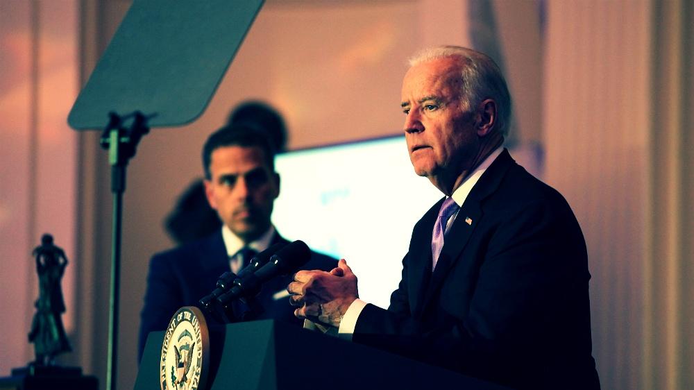 Focus on Joe Biden, not his degenerate son