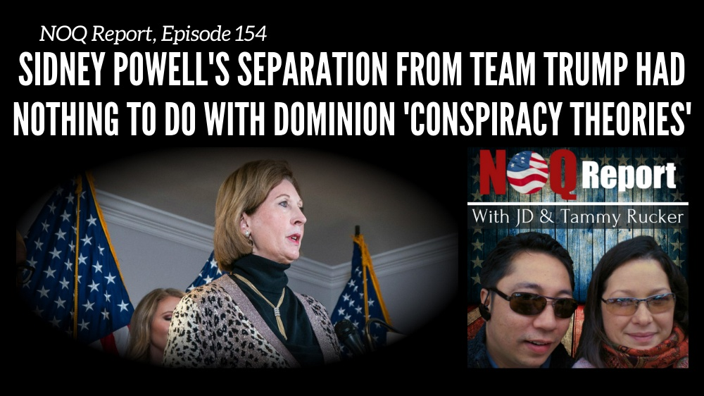 Sidney Powell's separation from team Trump had NOTHING to do with Dominion 'conspiracy theories'