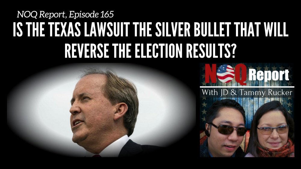 Is the Texas lawsuit the silver bullet that will reverse the election results?