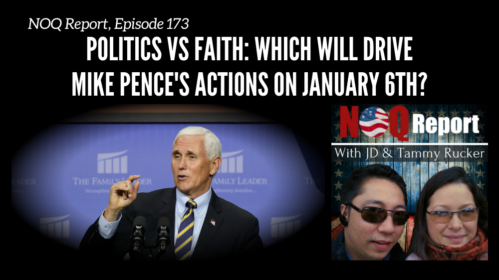 Politics vs Faith: Which will drive Mike Pence's actions on January 6th?