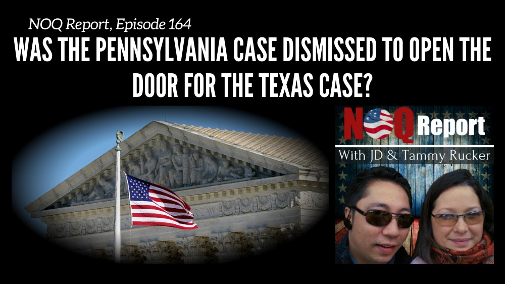 Was the Pennsylvania case dismissed to open the door for the Texas case?