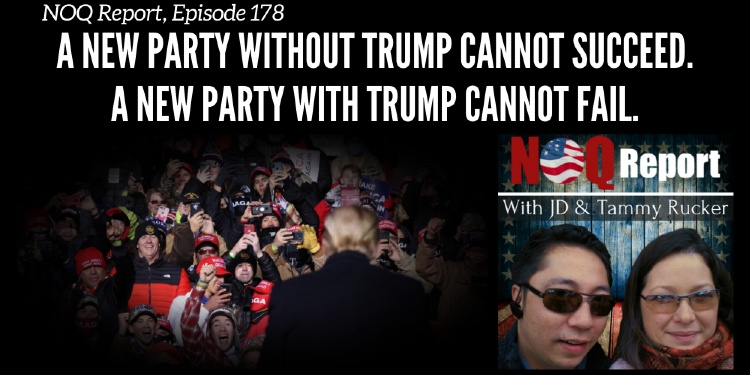 A new party without Trump cannot succeed. A new party with Trump cannot fail.