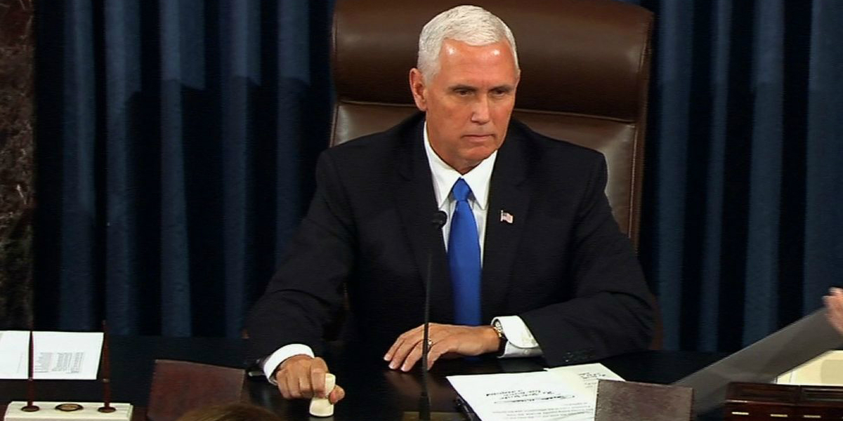 Did Mike Pence subtly reveal the strategy to stop the steal on January 6th and beyond?