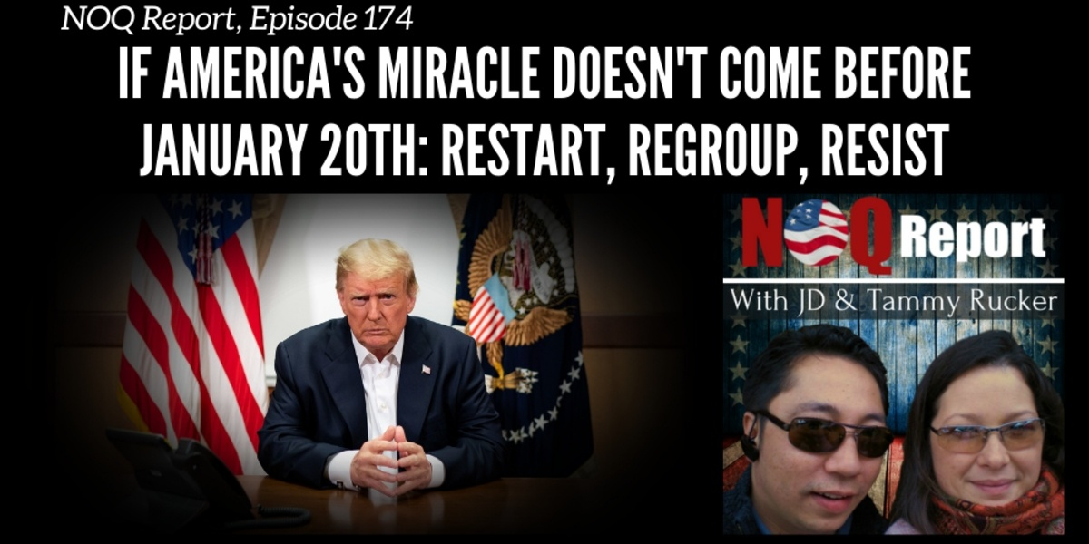 If America's miracle doesn't come before January 20th: Restart, regroup, resist