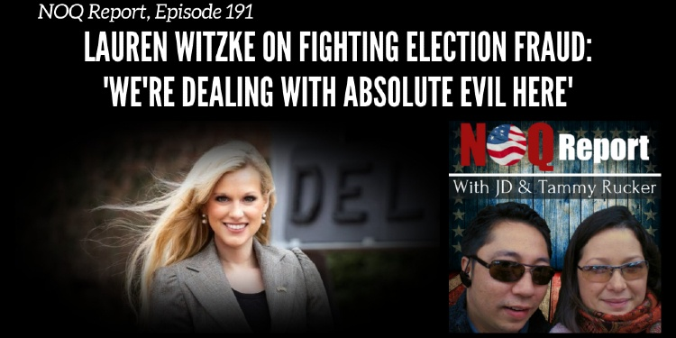 Lauren Witzke on fighting election fraud: 'We're dealing with absolute evil here'